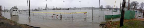 A Flooded Cashman Park Panorama 4-16-07